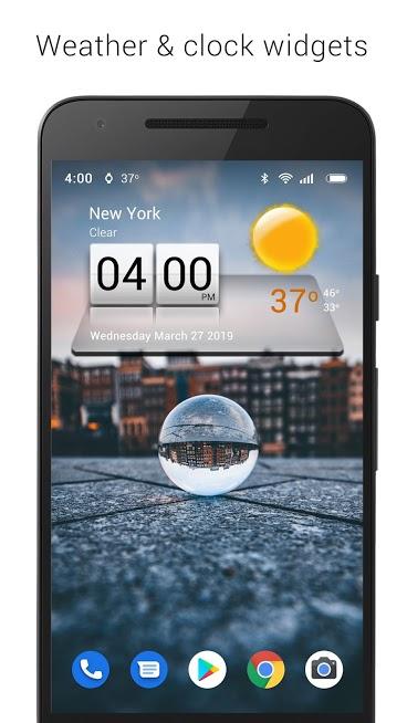 دانلود ۳D Sense Clock & Weather 5.84.3 – برنامه ساعت و هواشناسی سه بعدی اندروید