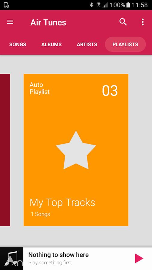 دانلود Air Tunes Music Player Pro 1.4.1 – موزیک پلیر با کیفیت اندروید