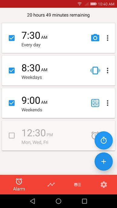 دانلود Alarmy (Sleep If U Can) 4.33.21 – برنامه ساعت زنگدار مخصوص اندروید