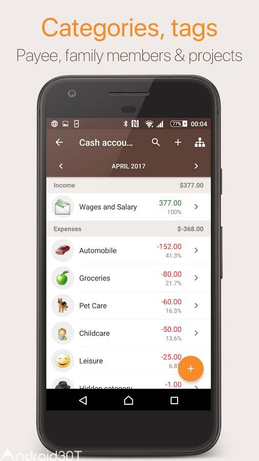 دانلود Alzex Finance: Family budget with cloud sync 2.9.2 – برنامه حسابدار شخصی اندروید