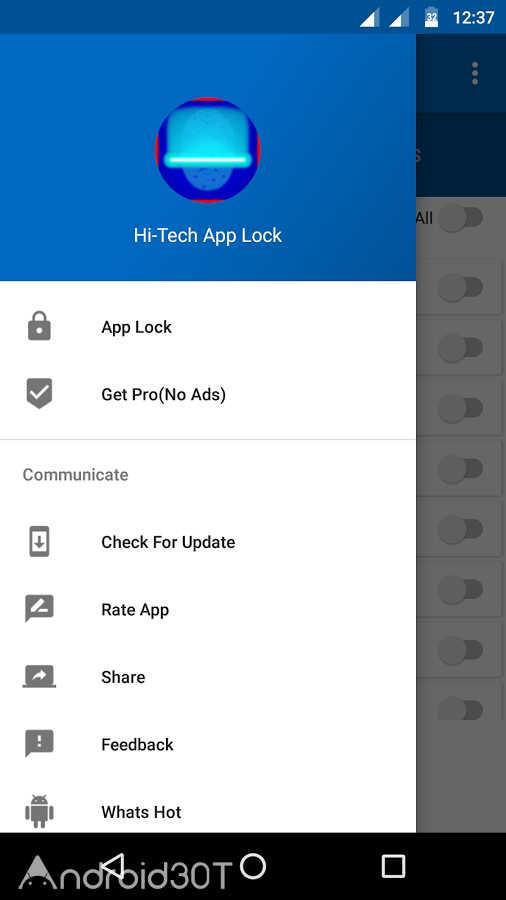 دانلود AppLock PRO: Fingerprint 1.10 – برنامه قفل با اثرانگشت اندروید