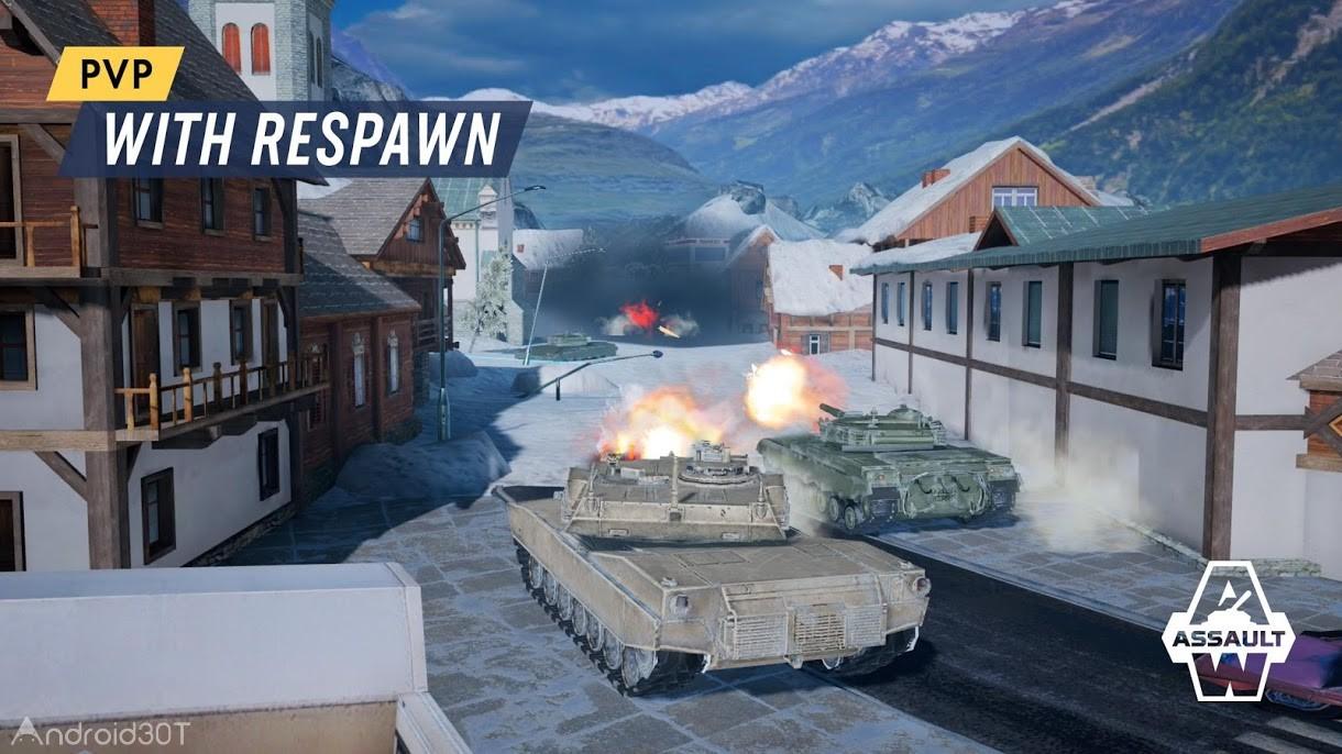 دانلود Armored Warfare: Assault 1.7.11 – بازی اکشن مبارزه با تانک برای اندروید