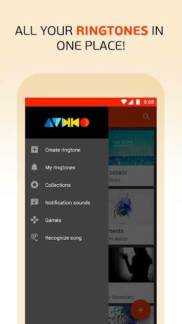 Audiko: ringtones, notifications