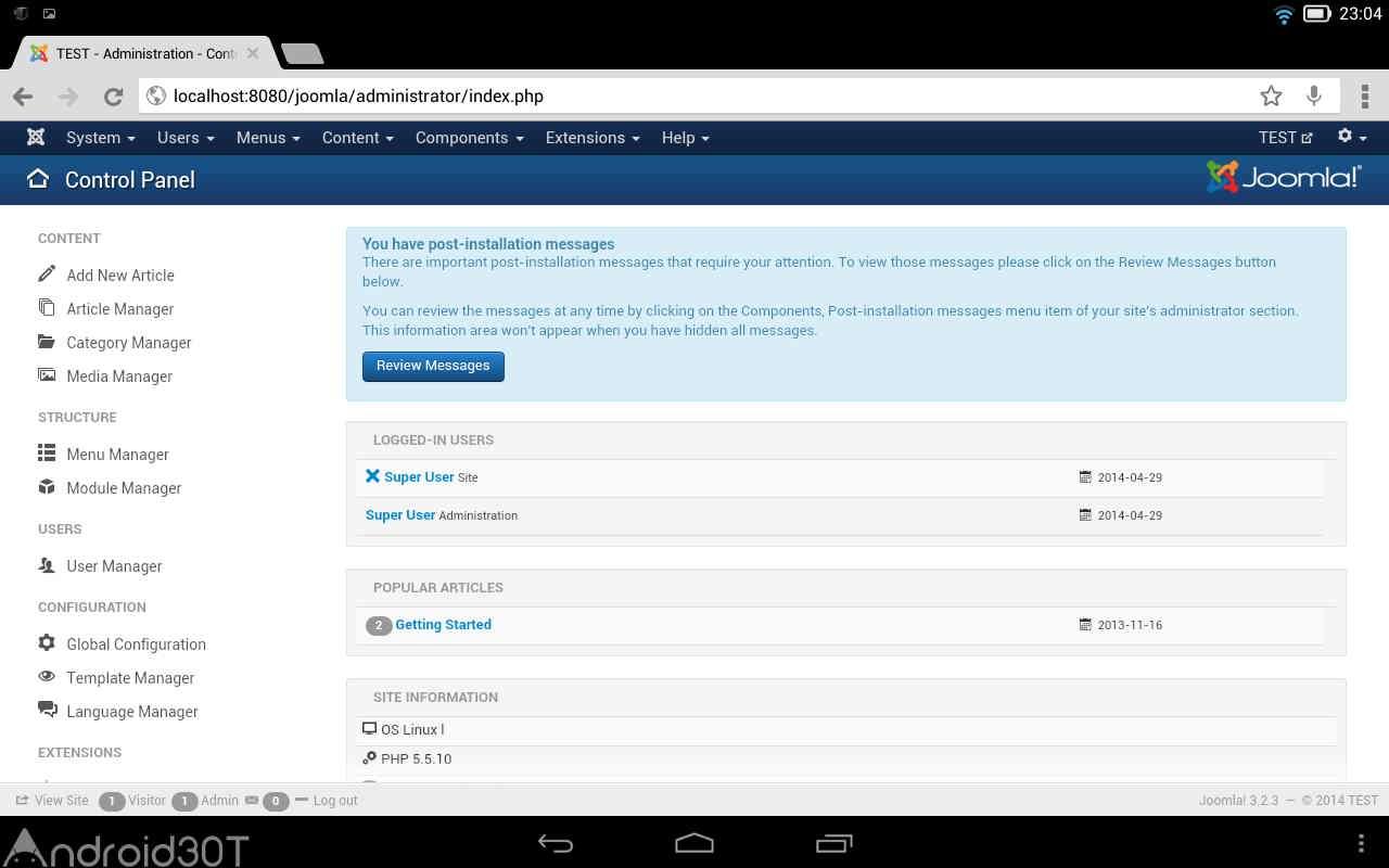 دانلود 2.4.7 Bit Web Server – برنامه وب سرور توسعه دهندگان اندروید