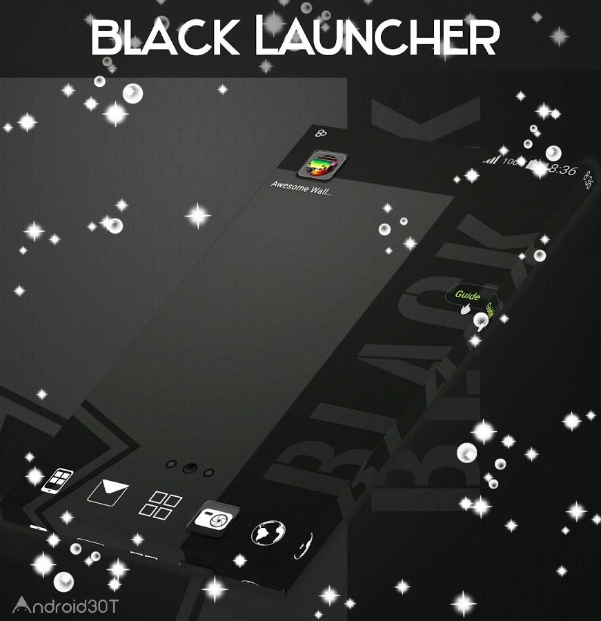 دانلود 1.264.1.83 Black Theme Launcher – مجموعه تم های سیاه و سفید اندروید
