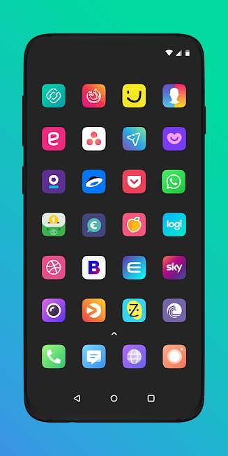 دانلود 2.79.0 Borealis – Icon Pack – برنامه بورالیس آیکون پک اندروید