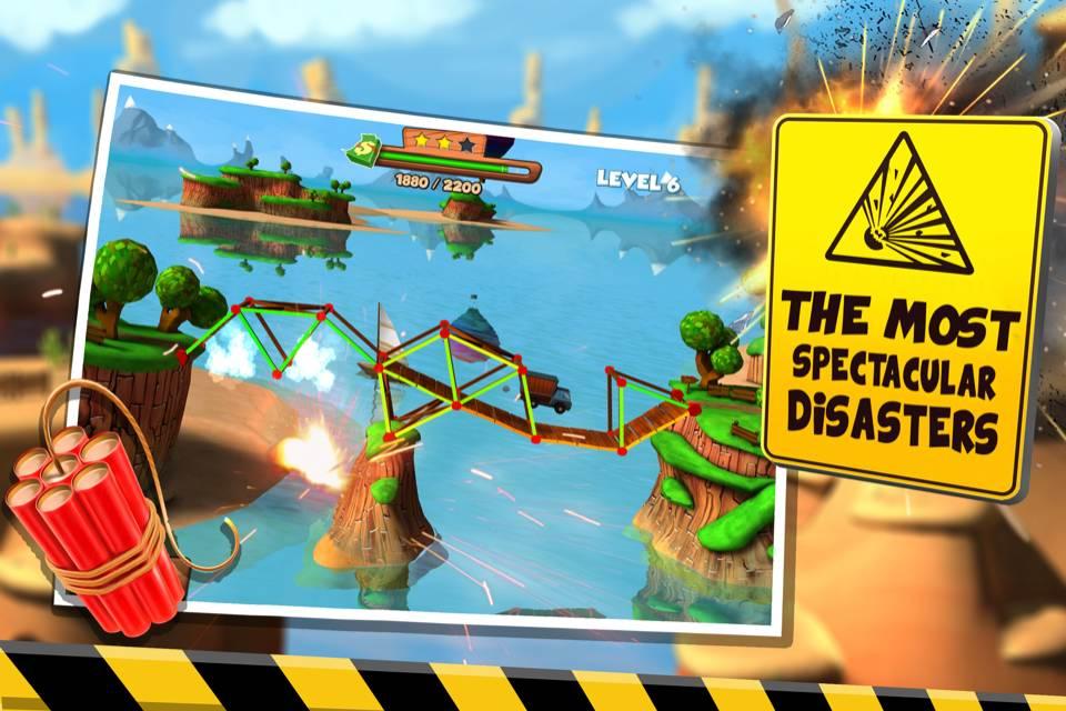 دانلود Bridge Builder Simulator 1.4 – بازی شبیه ساز پل سازی اندروید