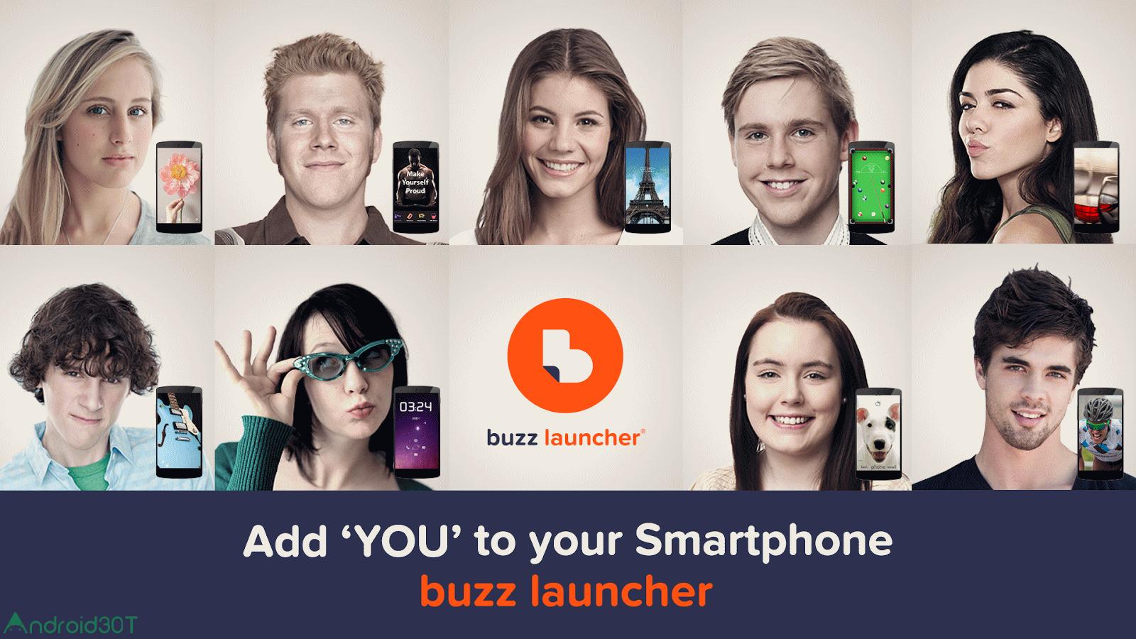 Buzz Launcher 1.9.6.13 – لانچر زیبا و محبوب باز اندروید!