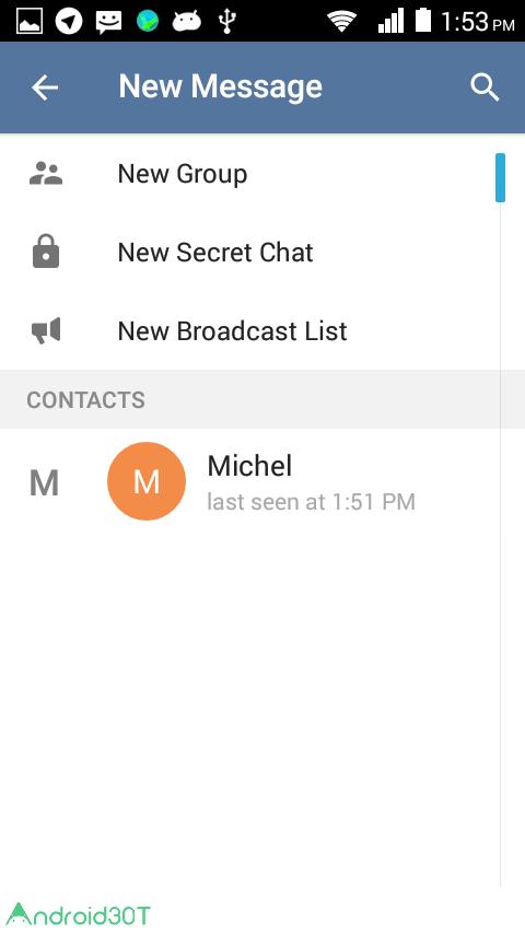 دانلود Callgram messaging with calls 1.5.4 – اضافه کردن تماس صوتی به تلگرام اندروید