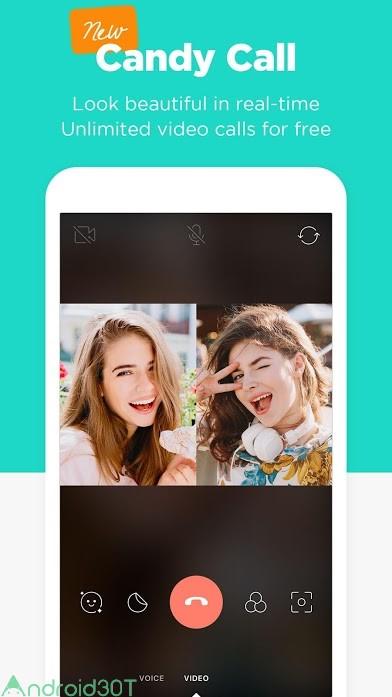 دانلود Candy Camera for Selfie 5.4.74 – برنامه عکاسی کندی کمرا اندروید