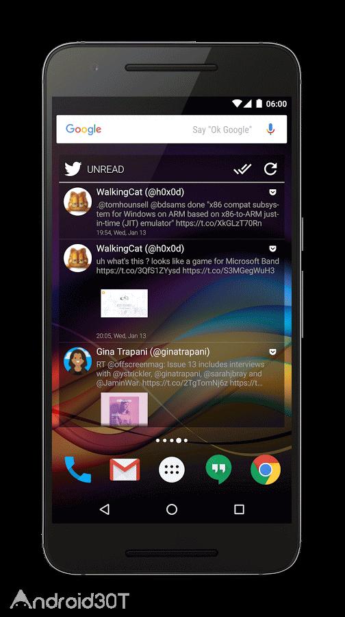 دانلود Chronus: Home & Lock Widget 18.1 – مجموعه ویجت زیبای اندروید