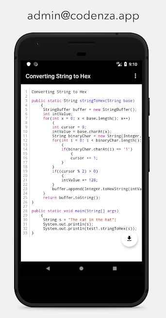 دانلود Codenza Pro 2.6 – برنامه آشنایی با برنامه نویسی اندروید