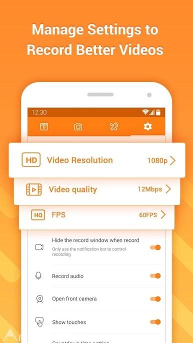 دانلود DU Recorder – Screen Recorder 2.4.4 – برنامه فیلمبرداری از صفحه نمایش اندروید