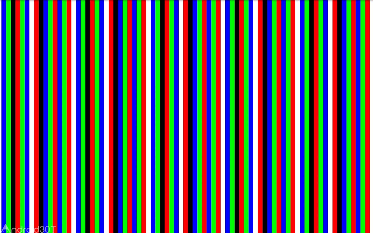 دانلود Dead Pixels Test and Fix 2.6 – برنامه شناسایی پیکسل های سوخته اندروید