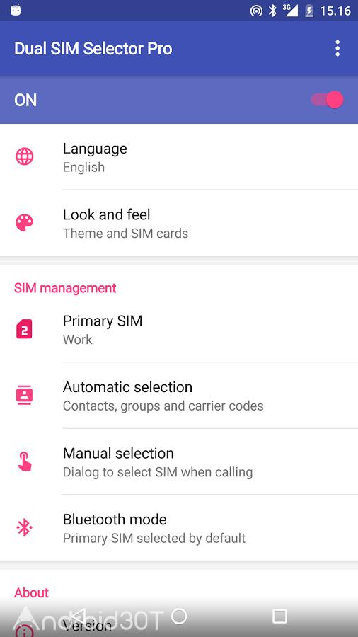 دانلود 2.9.0 Dual SIM Selector Pro – برنامه گوشی های دو سیمکارته اندروید