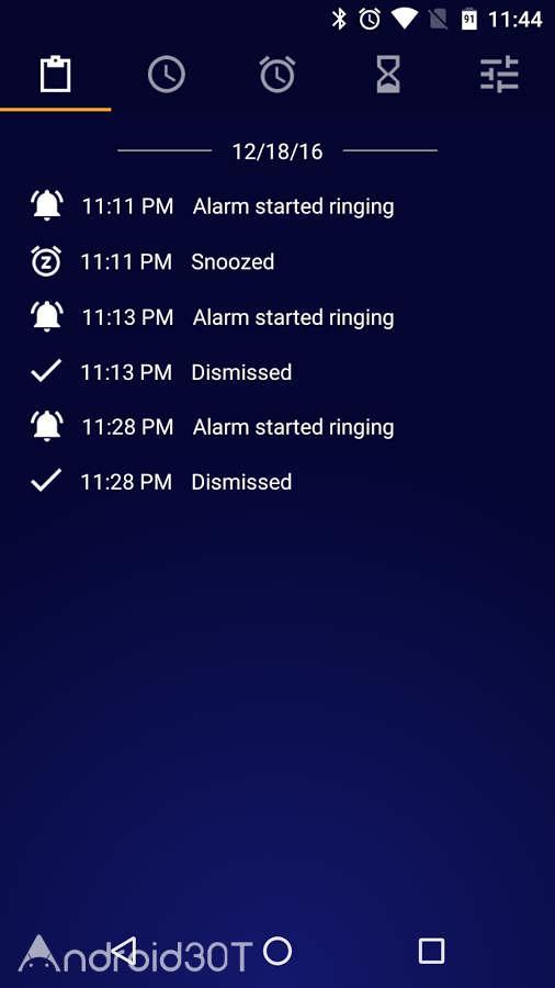 دانلود Early Bird Alarm Clock Pro 6.6.0 – آلارم حرفه ای و پر امکانات اندروید