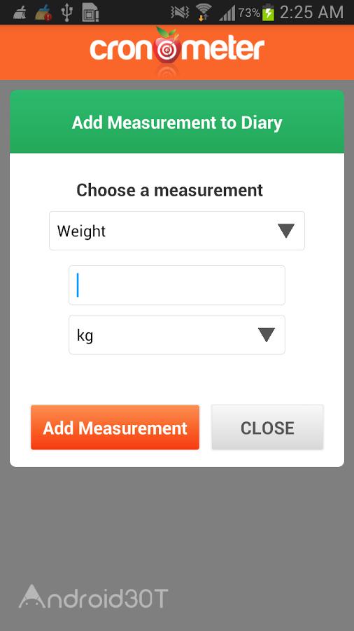 دانلود Cronometer 3.2.4 – برنامه مفید کرنومتر سلامتی اندروید
