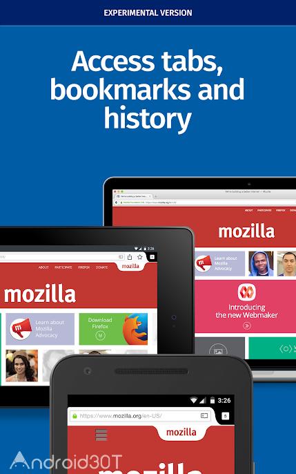 دانلود Firefox Nightly for Developers v210107.17.00 – مرورگر فایرفاکس دولوپر اندروید