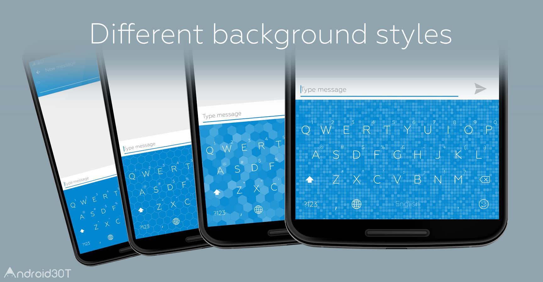 دانلود Flat Style Colored Keyboard Pro 3.5.0 – برنامه سفارشی سازی کیبورد اندروید