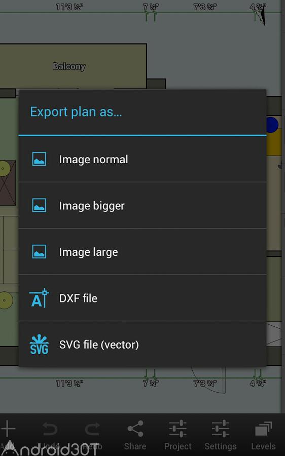 دانلود Floor Plan Creator 3.1.8b2 – برنامه مهندسی طراحی پلن و نقشه کشی اندروید
