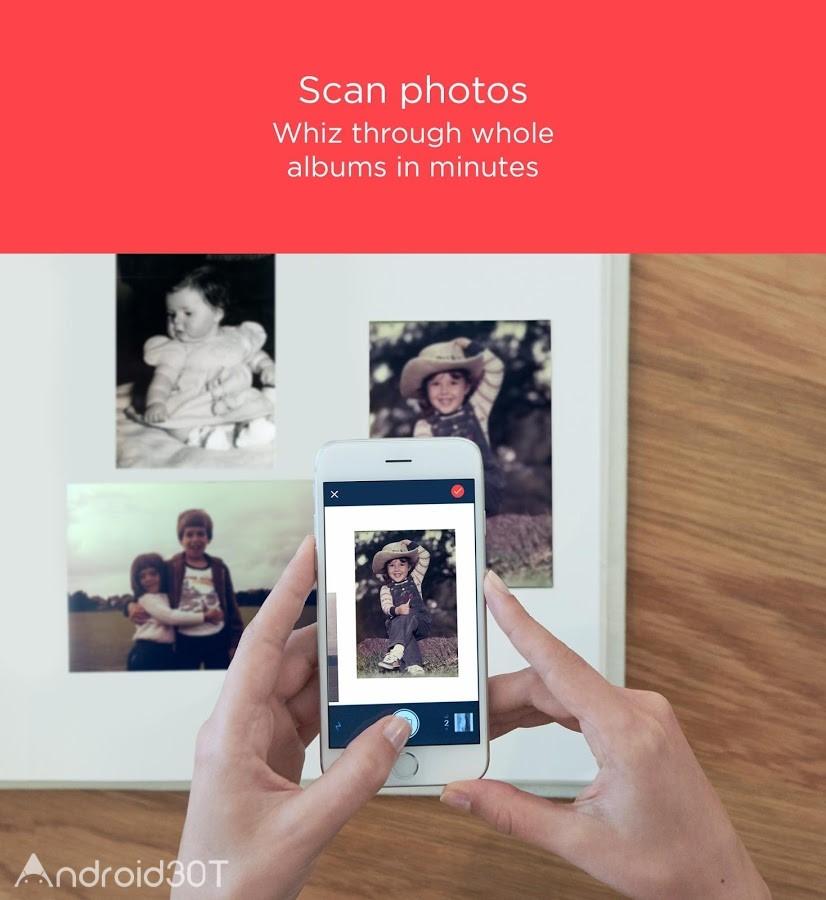 دانلود Photo Album Scanner 18.7.2720L – برنامه ساخت آلبوم دیجیتال اندروید