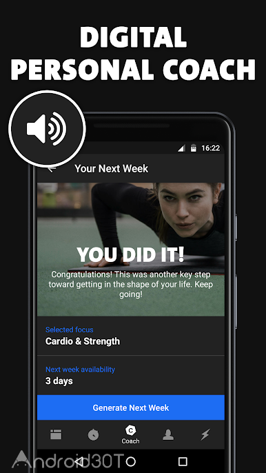 دانلود Freeletics: Personal Fitness Coach 5.8.0 – برنامه کاربردی فیتنس شخصی اندروید