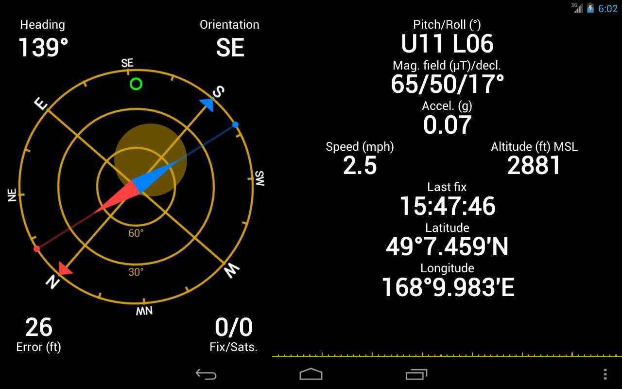 دانلود GPS Status & Toolbox PRO 9.2.192 – مجموعه ابزار کاربردی جی پی اس اندروید