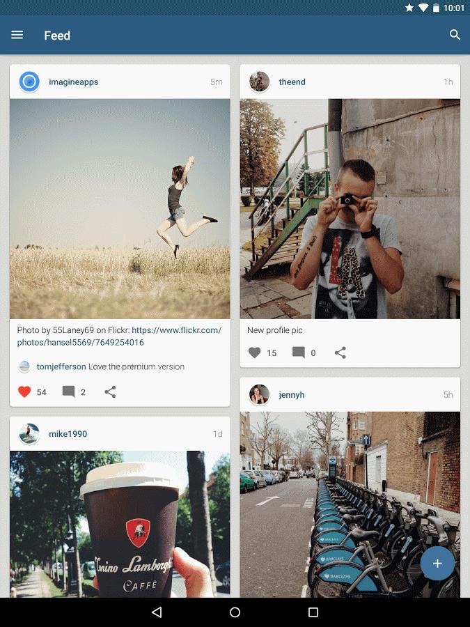 دانلود Imagine for Instagram 4.0.10 – مدیریت فالوئرها و ساخت چند اکانت اینستاگرام