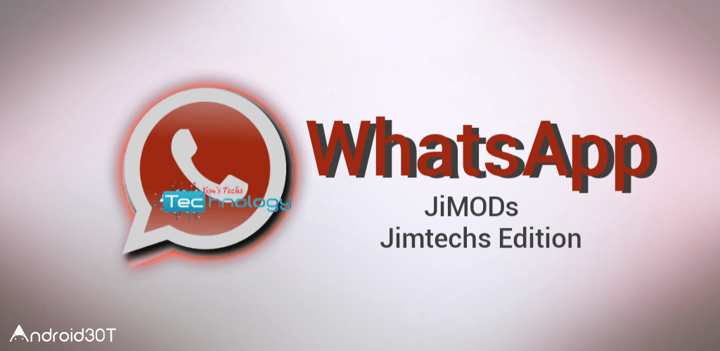 دانلود Jimtechs Whatsapp + plus 8.31 – واتس اپ پلاس جیمی اندروید