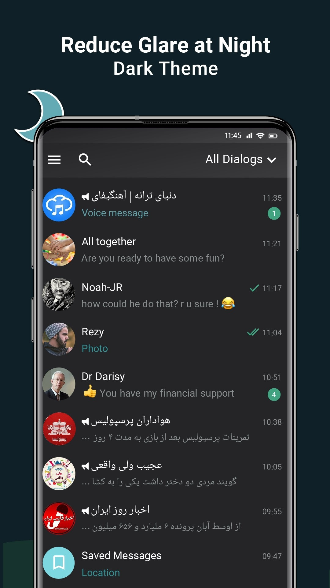 دانلود 0.62 Jinng – مسنجر ایرانی جینگ برای اندروید