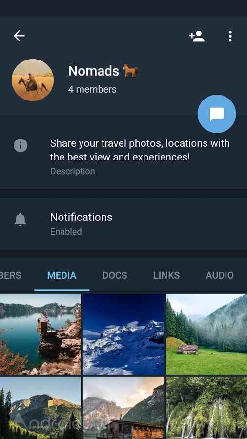 دانلود تلگرام ایکس 2021 جدید Telegram X 0.23.6.1399 برای اندروید