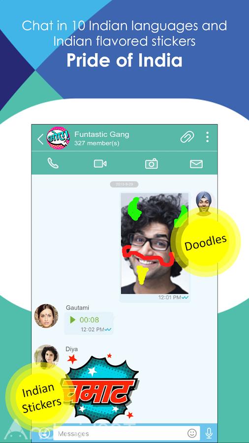 دانلود Jio Chat Messenger 3.2.7.6.0403 – مسنجر سریع جیو اندروید