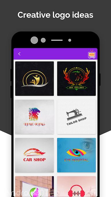 دانلود Logo Maker, Icon Creator, Modern Logo Designs 16.0 – برنامه طراحی لوگو برای اندروید