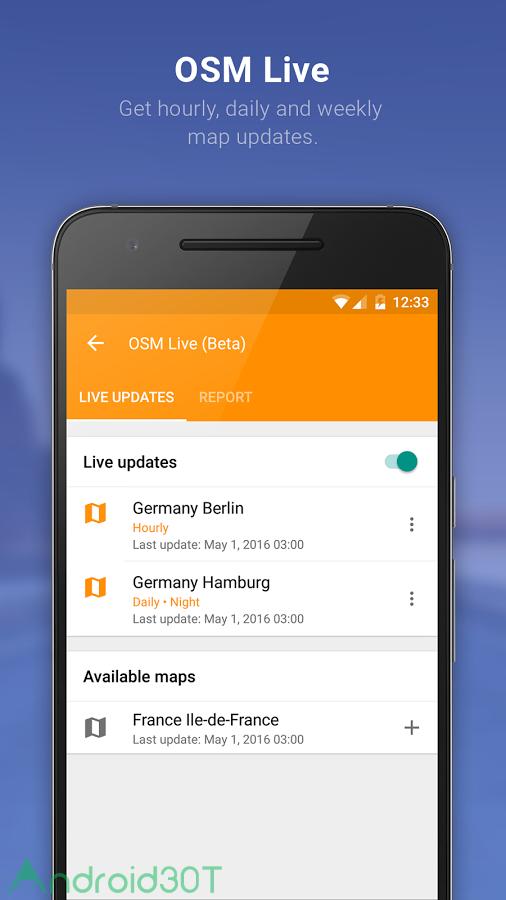 دانلود مسیریاب آفلاین OsmAnd+ Maps & Navigation 3.9.8 برای اندروید