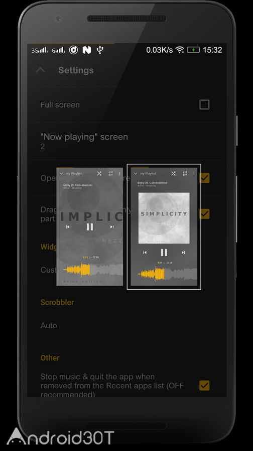 دانلود Music Player Mezzo Full 2020.03.08 – موزیک پلیر حرفه ای اندروید