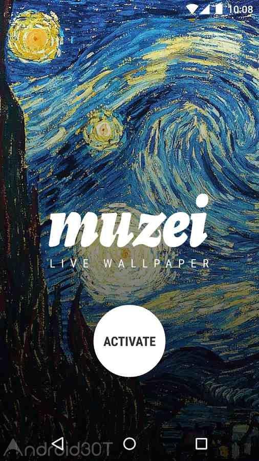 دانلود Muzei Live Wallpaper 2.1.1 – لایو والپیپر برای اندروید