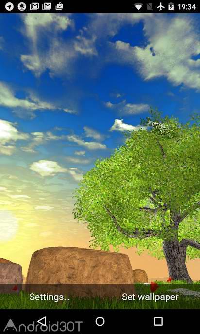 دانلود Nature Tree Milky Way live wallpaper 4.3.2 – برنامه لایوپیپر مناظر طبیعی اندروید