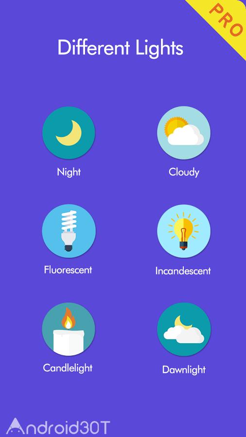 دانلود Night Screen Filter Pro 1.2 – برنامه حالت شب برای صفحه نمایش اندروید