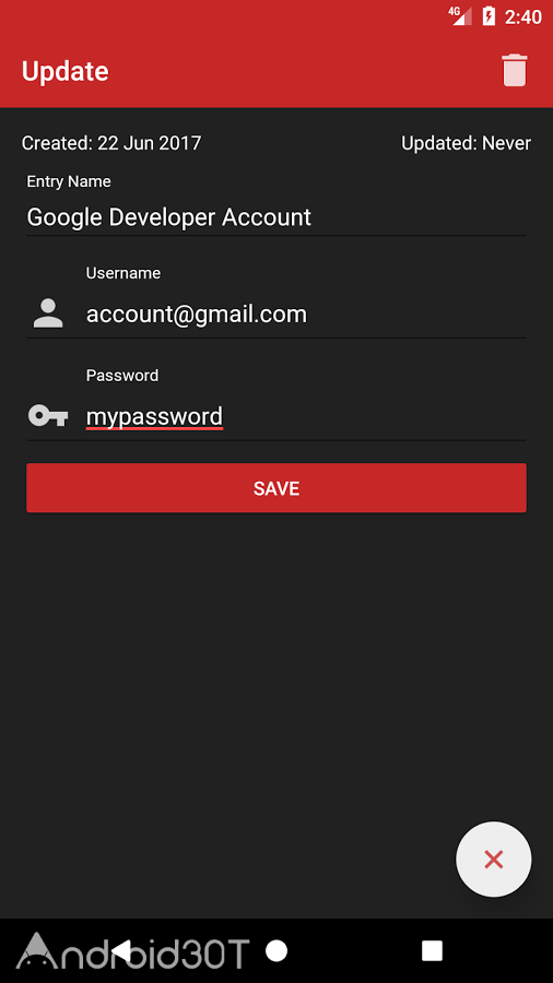 دانلود Password Manager Plus : Fingerprint & Backup 1.1.2 – برنامه مدیریت رمز عبور اندروید