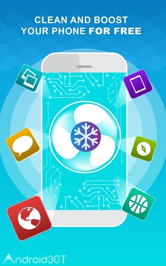 دانلود Phone Cooler Full 1.4 – برنامه کاهش دمای دستگاههای اندروید