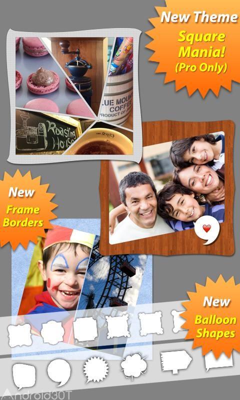 دانلود PhotoShake 2.0.3 – برنامه ساخت تصاویر کلاژ اندروید