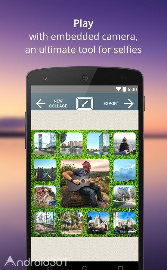 دانلود PictureJam Collage Maker Plus 1.4.3a – برنامه ساخت تصاویر کلاژ اندروید