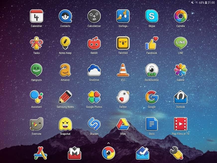 دانلود ۱٫۸٫۵ Poppin icon pack – برنامه آیکون بسته پوپین اندروید
