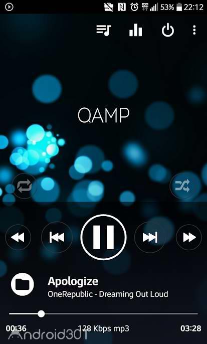 دانلود Pro Mp3 player – Qamp 1.1.126 – برنامه پلیر هوشمند اندروید