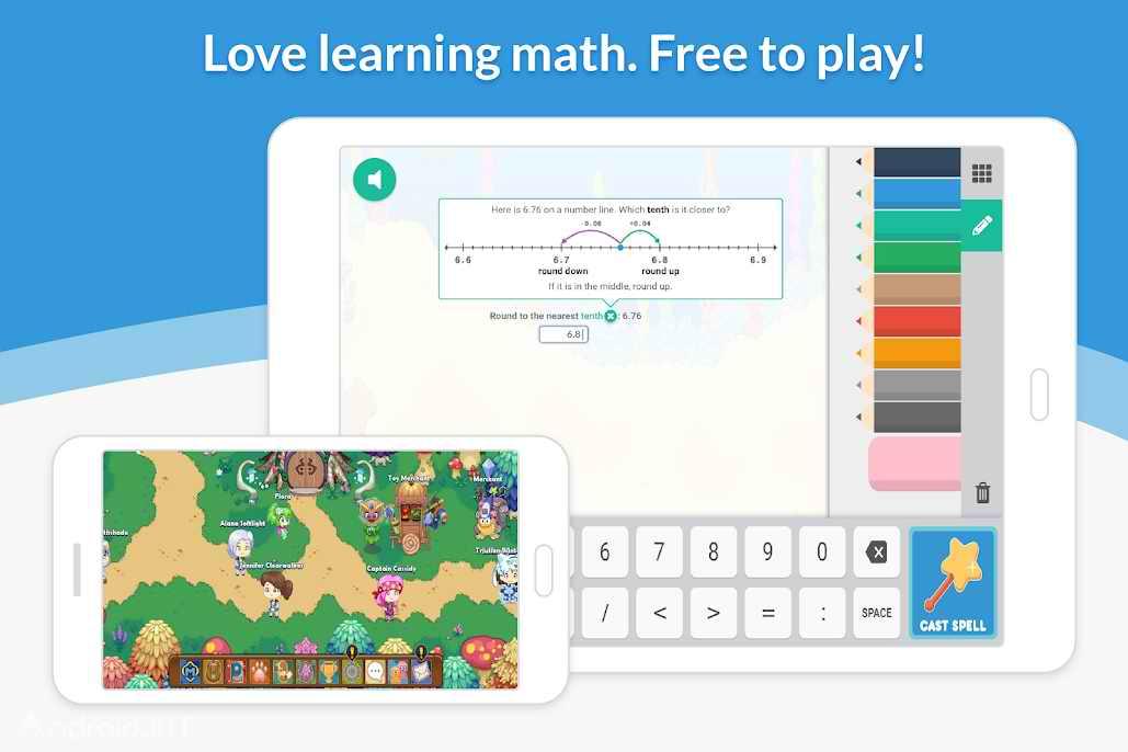 دانلود Prodigy Math Game 1.0.1 – بازی شگفت انگیز ریاضی اندروید