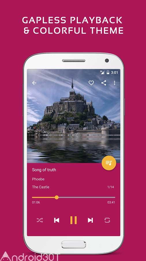 دانلود Pulsar Music Player Pro 1.10.4 – برنامه پخش موزیک در اندروید