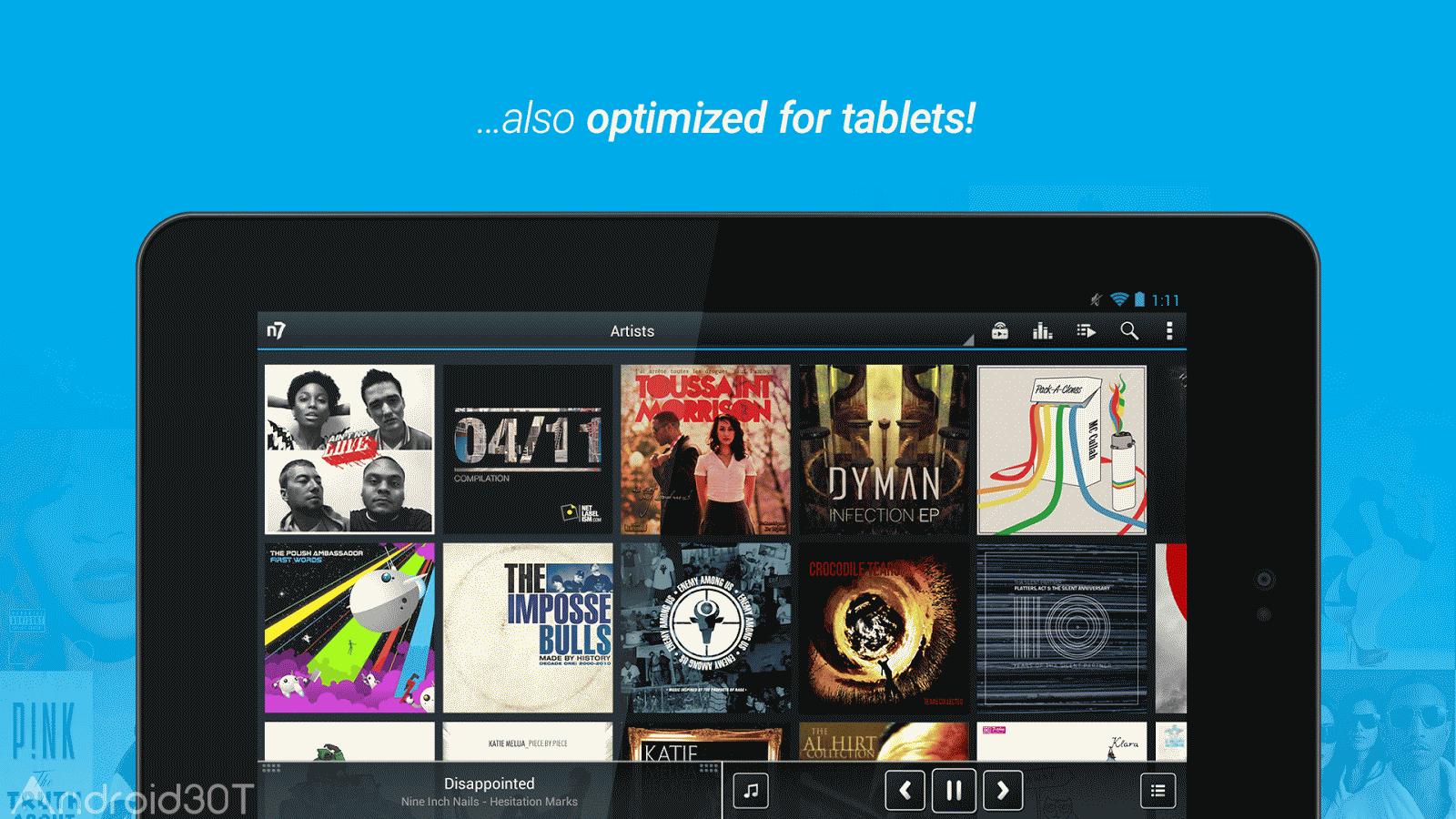 دانلود n7player Music Player 3.1.2 – موزیک پلیر قدرتمند اندروید