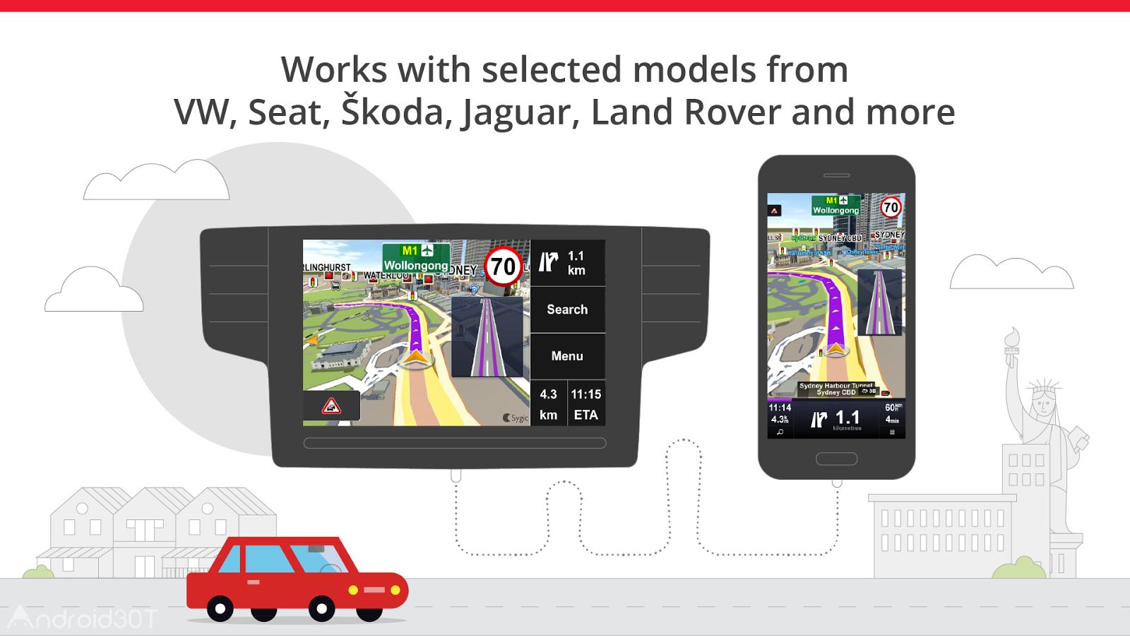 دانلود Sygic Car Navigation Premium 18.6.2 – برنامه مسیریابی خودرو اندروید