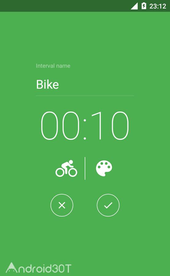 دانلود Interval Timer – HIIT Tabata 1.1.6.1 – برنامه کرنومتر حرفه ای اندروید