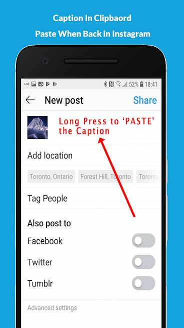 دانلود Repost for Instagram 9.91 – برنامه ریپست اینستاگرام برای اندروید